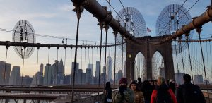 Brooklyn Bridge vu de Brooklyn @Adélaïde