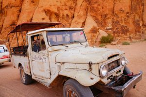 4x4 dans le Wadi Rum by Romain