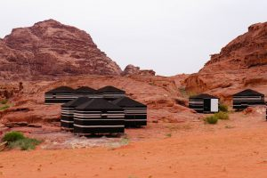 Le camp de base dans le Wadi Rum by Romain