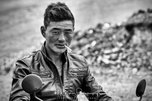 Le James Dean mongol by Nicolas Messner